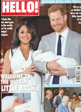 Hello! Magazine May 20 2019 Meghan & Harry Baby Archie Special Met Gala 2019
