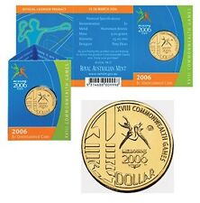 2006 Melbourne Commonwealth Games $1 Coin - Melbourne 'M' Mintmark