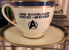Star Trek Voyager *Inspired Pfaltzgraff Replica Excelsior Tea Cup