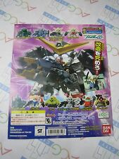 SD Gundam Full Color Custom 15 Gashapon Toy Machine Paper Card Bandai Japan