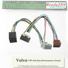 SOT-8582-01 ISO Cable for Parrot CK3100/Volvo V50 04- Base/Performance Sound