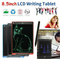 """8.5"""" Kids LCD Drawing Writing Tablet Office Memo Pad Board Message Whiteboard E"""