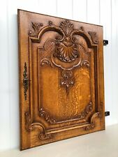 Stunning Louis XV / Liège Style Carved door panel in oak