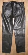 """"""" Southern """" Men's Leather Jeans/Leather Pants IN Black Approx. W33 """" / L33 """""""