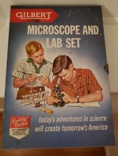 VINTAGE GILBERT MICROSCOPE AND LAB SET 13072