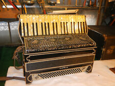 Vintage  Soprani / Castello Accordian made in Castelfidardo, Italy Side Buttons