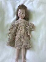 "Doll, 18"" Effanbee  Vintage 1950s"