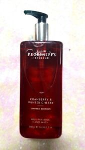 1 - 16.9 OZ  Pecksniff's CRANBERRY & WINTER CHERRY Hand Wash LIMITE EDITION