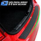 Rear Bumper Guard Rubber Protector Trim Cover Scuff Car Trunk Protectors 35.8