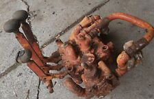 3 Spool Hydraulic Valve Bank Old Heavy Duty Valve Loader Trencher Tractor