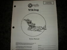 Exmark viking 80,000 & higher parts manual ipl 850192