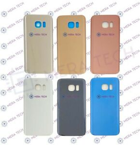 Rear Back Battery Cover Glass For Samsung Galaxy S7 SM-G930F With Adhesive