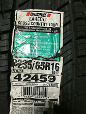1 New 235 65 16 Uniroyal Laredo Cross Country Tour Tire