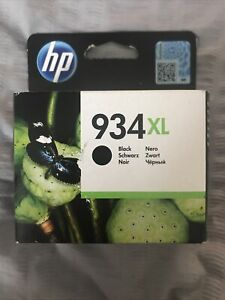 Genuine HP 934XL Black High Capacity Ink Cartridge