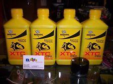 TAGLIANDO 4 LT OLIO BARDAHL XTC C60 10W50 + FILTRO KTM 990 ADVENTURE 07-12