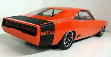 Greenlight 1/18 Scale Custom 1969 Dodge Charger Daytona Orange / Black model car