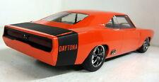 Greenlight 1/18 SCALA Custom 1969 DODGE Charger Daytona Arancione/Nero modello auto