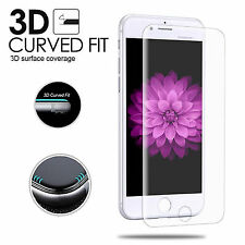 Genuine Full 3D Curved Tempered Glass Screen Protector for iPhone 6 & 6S - Clear