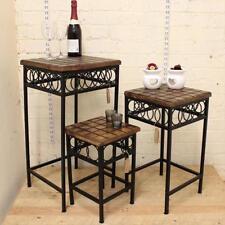 Mesas sin marca de metal para el hogar