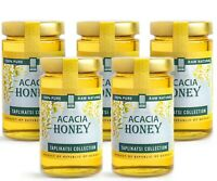 Acacia Raw Honey (5-PACK); Natural Wildflower Honey