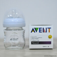 Philips Avent-Natural 4 Ounce Glass Bottle