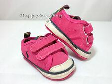 Ralph Lauren Baby Shoes Carlisle II EZ Suede Sneaker US2 (3-6MOS) 11cm Pink