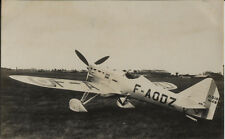 Postcard 1415 - Aircraft/Aviation Real Photo Dewoitine D 510 French Air Force