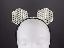 Faux Pearl mouse ears headband hair band accessory minnie cosplay anime