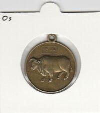 China medaille Dierenriem / Zodiac - Os / Ox