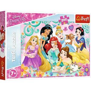 Trefl 200 Piece Kids Disney Happy World Of Princesses Magical Jigsaw Puzzle NEW