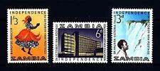 ZAMBIA - 1964 - Indipendenza. Soggetti diversi