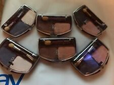LOT OF 6 SETS FLAME GLO WET/DRY EYE SHADOW DUETS  COLORS FREE SHIPPING