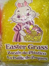 New bag for Sales-( 8 ounces ) YELLOW Basket Grass Fill for Gift Holiday Basket