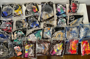 lot of 25 mcdonalds happy meal sealed toys power rangers avatar and more
