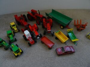 Job Lot Britain's Farm Tractors and others