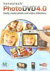 honestech Photo DVD 4.0 video slideshow multimedia music voice over YouTube CD