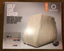 Classic Accessories Fairway Golf Car Cover  Short Roof
