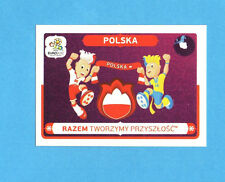 PANINI-EURO 2012-Figurina n.30- POLONIA -NEW-WHITE BOARD
