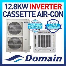 NEW DOMAIN PREMIUM 12.8KW INVERTER REVERSE CASSETTE SPLIT SYSTEM AIR CONDITIONER