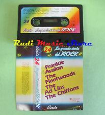 MC La grande storia del rock 24 PROMO CURCIO AVALON AD LIBS no cd lp dvd vhs