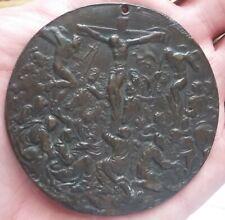 Médaille ancienne PAVLVS IIII PONT MAX signée / Crucifixion Vatican A VOIR RRRRR
