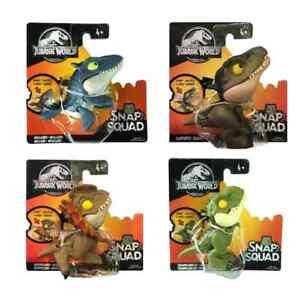 Jurassic World Snap Squad Wave 5 set of 4 Pcs Figure