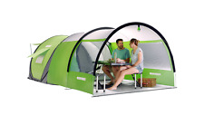 Cinch! Ultimate Camping Pop Up 4-Person Tent Extended Canopy Kickstarter Extra