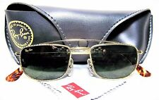 Ray-Ban USA Vintage NOS B&L Classic W1756 Special Edition 24k GP New Sunglasses