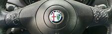 ALFA ROMEO 147 156 GT ADESIVI STICKER DECAL COMANDI VOLANTE COVER PLATTE MARCO