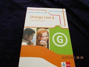 """KLETT Englisch Kl. 7 """"Orange Line 3. Grammatiktraining aktiv"""" broschiert, 2016"""
