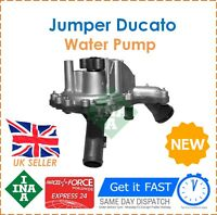 For Citroen Jumper Fiat Ducato Ford Transit Peugeot Boxer 2006- INA Water Pump