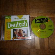 Lernpaket Grundschule Deutsch Klasse 3-4 - CD ROM