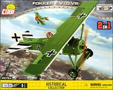 COBI Fokker E.V (D.VIII) (2976 A) - 155 elem. - WWI German/Polish fighter