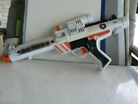 RARE - MINT STAR WARS 1996 STORMTROOPER ELECTRONIC BLASTER LUCASFILM WHITE